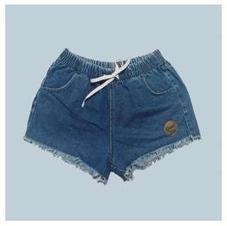 denim sexy hw shorts