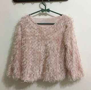Pinky Dust Faux Fur