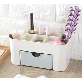 Desktop Makeup Organizer Drawers Cosmetics Storage Box Stationery Storage Box