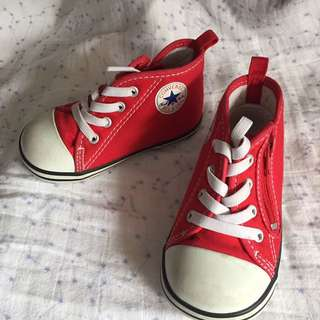 Converse Baby Red