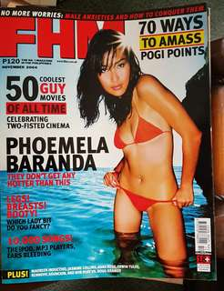 Phoemela Baranda on FHM November 2004