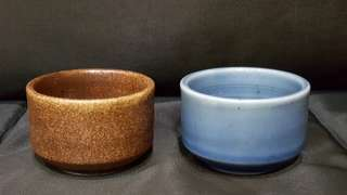 Pair of Japanese Tea Cups