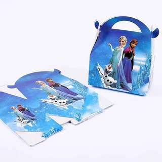 Frozen party supplies - goodie box / candy box / party box / gift box
