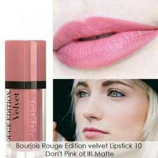 Bourjois lip cream rouge velvet edition