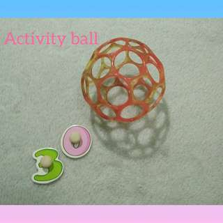 Baby toys, rattles and teether