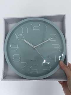 [Brand New]Wall Clock (Mint Green)