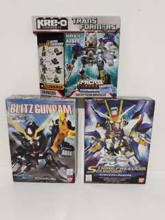 Gudam Tool Kit, SD Gundam & Kreo Lot