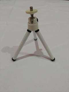 Mini white tripod