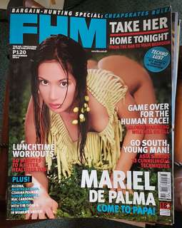 Mariel de Palma on FHM September 2004