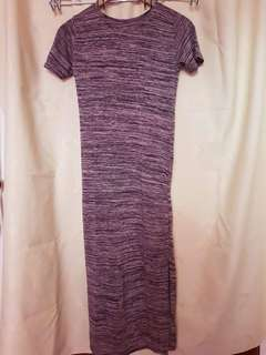 maxi dress / blouse