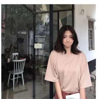 🚚 奶茶色純色上衣