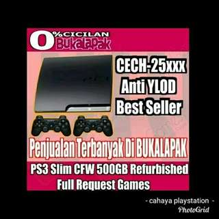 Sony ps3 slim 500gb full game cfw 4.82 2stik