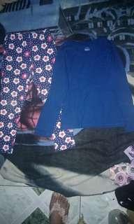 Branded Buy 1 get 1 leggings & sweatshirt