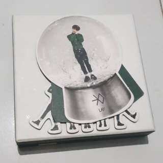 Snowglobe / Photocard / PC Lay EXO - Miracle in December
