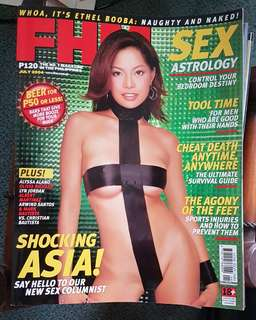 Asia on FHM July 2004