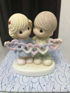 Precious Thot Figurine - Our Hearts Are Interwined with Love