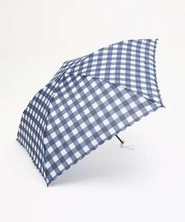 《Afternoon  Tea 💐》最輕量的折疊雨傘80g (藍格紋款)