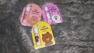 Line Friends Lip Cream