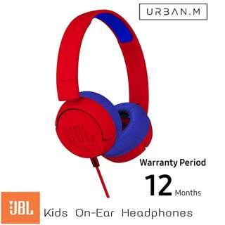 JBL JR300 Kids on-ear headphones (Red)