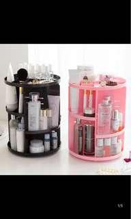 Makeup storage rotation