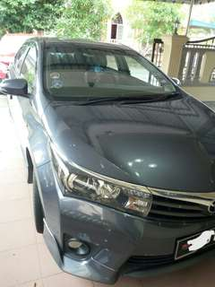 Toyota Altis 2.0 full spec
