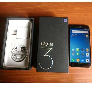 Xiaomi Note 3 Complete with Box Like New Trade OK