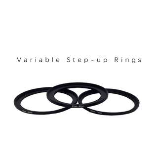 Pre-order: Variable Step-Up Rings (Metallic)