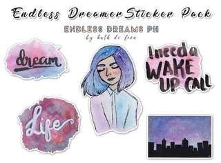 Endless Dreamer Sticker Pack