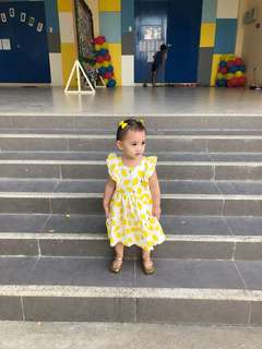 Little Miss Lemon Dress