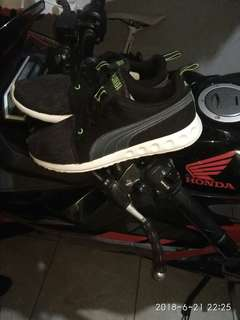 Jual sepatu puma ever ride sz 42 mulus banget