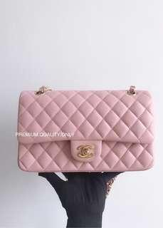Chanel CF Lambskin 25- pink