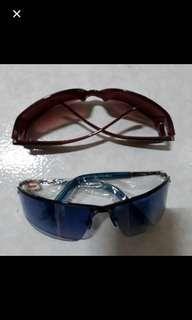 🚚 全新太陽眼鏡 藍色一支