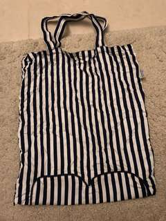 Naraya stripes tote bag