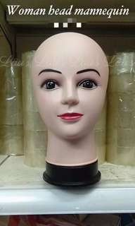 Woman head mannequin