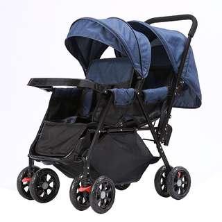 🔥 Order Reopens! BNIB Tandem Stroller (Bigger Basket w Food Tray)