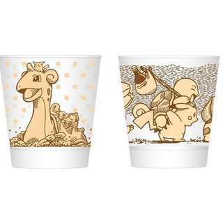 Pokemon Sepia Graffiti Series Glass Mug (Pre-Order)