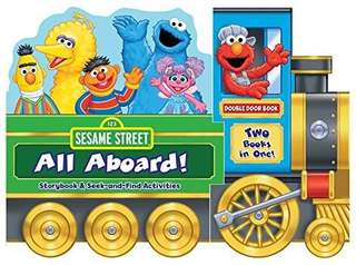🚚 (Pre-Order)  Sesame Street: All Aboard!: Storybook & Seek-and-Find Activities