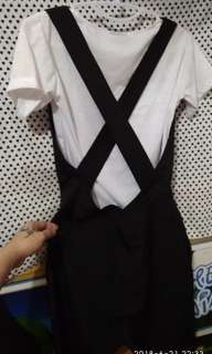 Black And White Jumpsuit..