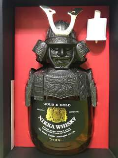 Nikka Gold & Gold Whisky 武士頭威士忌