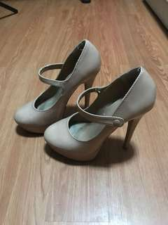 Forever 21 Nude Pumps