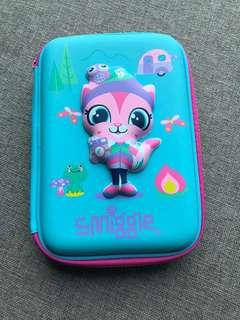 Smiggle 澳洲文具貓咪筆盒 收納盒