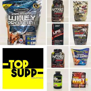 GYM SUPPLEMENTS / WHEY