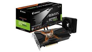 Aorus waterforce extreme edition 11G 1080ti