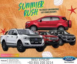 2018 Ford Cars Promo