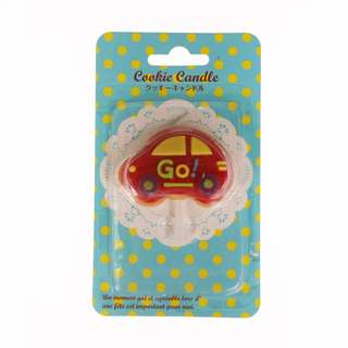 Cookie Candle Icing Car - Japan Brand - CLEARANCE SALE