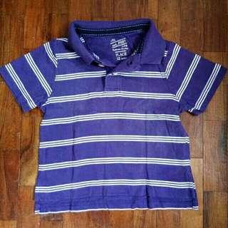 Place polo shirt