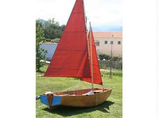 Seahopper foldable dinghy sail boat