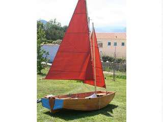 Seahopper foldable dinghy sail boat