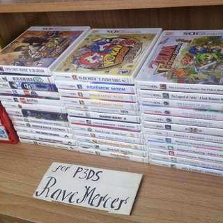 Selling Nintendo 3DS 2DS DS Games