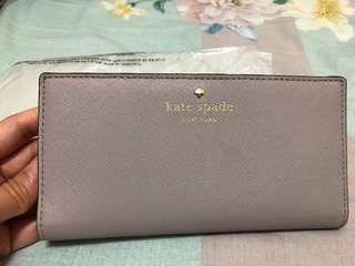 Kate Spade 灰色 銀包 wallet